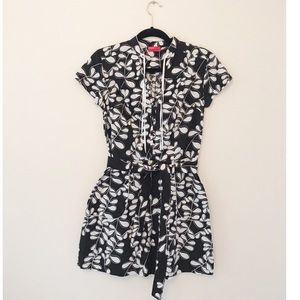 Floral pattern cotton dress